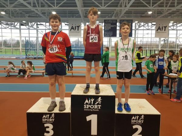 Underage Shot Put Podium