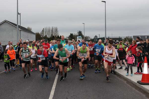 Claregalway 5k 2018 Clare River Harriers start