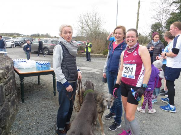 Mary Rohan at Colemanstown 10k 2018
