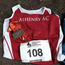 Athenry at Portumna Forest marathon 2018