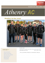 Initial page showing a group with a new Athenry top.